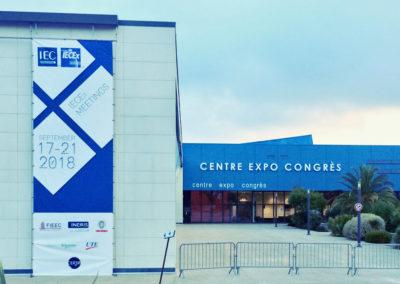 <h3 class='main'>17 – 21 września 2018, coroczne spotkanie IECEx, tym razem w Cannes we Francji.</h3>   <h3 class='add'>17 – 21 September 2018 – annual IECEx meeting, this time in Cannes, France.</h3>